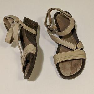 Teva Leather Strappy Sandal